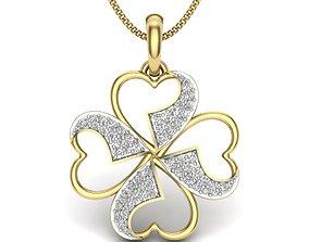 jewel Diamond Pendant For Ladies 3D printable model