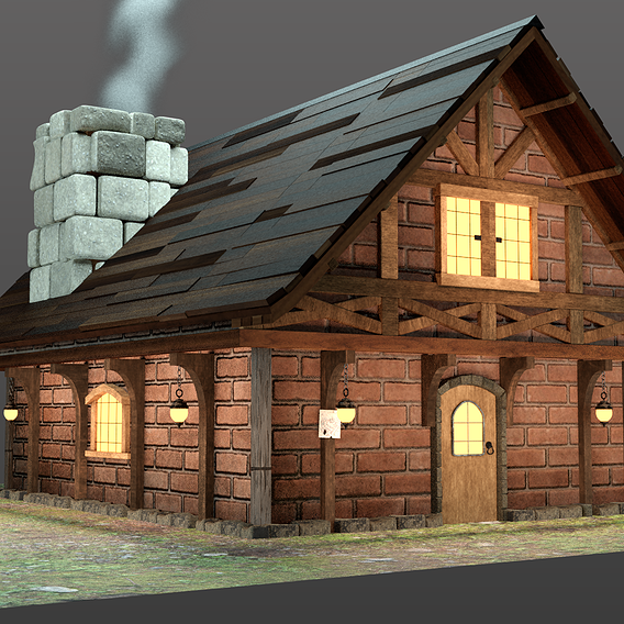 Medieval House Design