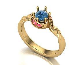 3D print model ring of love