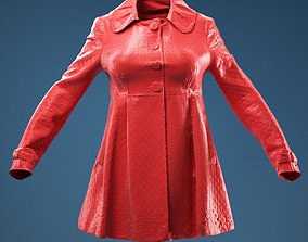 Vintage Jacket 3D model