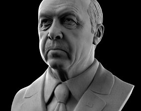 Recep Tayyip Erdogan 3D
