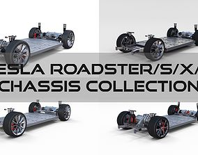 Tesla Roadster Model S X 3 Chassis Pack