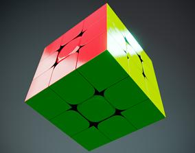 Rubiks Speed Cube 3D model