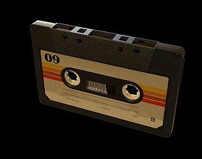 3D model Cassette Tape