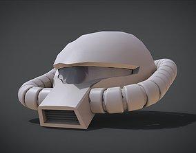 3D printable model Zaku Kai head