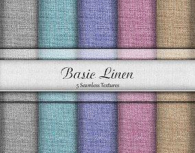 3D model Basic Linen Seamless Textures Set