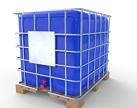 IBC Container 6 3D model