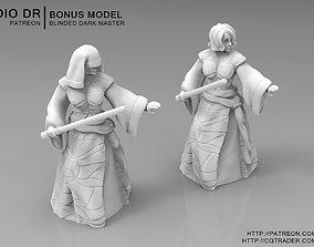 Blinded Dark Master 3D printable model