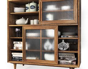 Cabinet Sideboard Bruni By Etg Home 3D