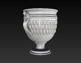 Chalice Cup Antique like 3D Print Ready 3D model