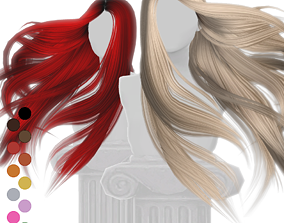 3D Flying Hair