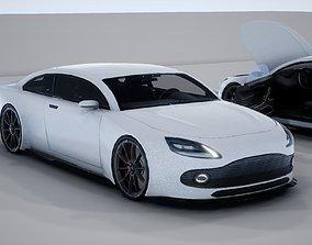 Generic Mid Size 2 Door Coupe 2 3D model