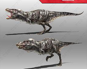 Tyrannosaurus Rex 3D asset animated