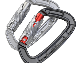 3D model Climbing Carabiner Clip
