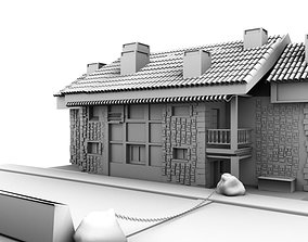 tower 3D house