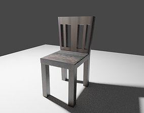 VR / AR ready 3d modeled chair