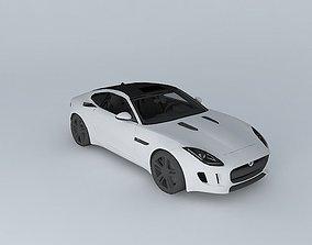 2015 Jaguar F Type Coupe 3D model