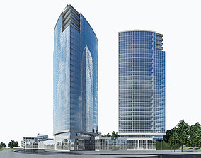 3D model High-rise Office Building 05