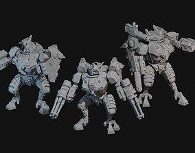 3D print model Space Communist Battlesuit Builder