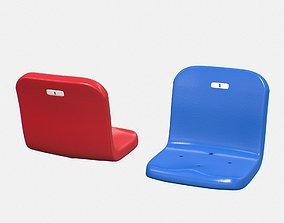 Stadium Seat 3D asset
