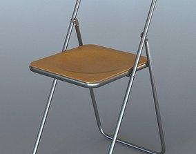 3D Foldable plastic chair