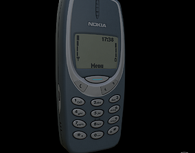 Nokia 3310 gameready model realtime