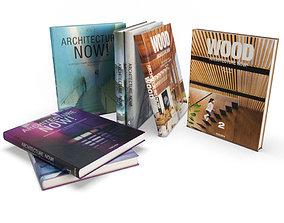 3D model Books Architect 2