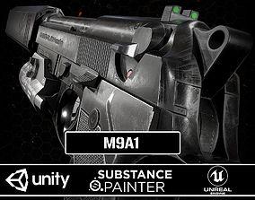M9A1 Black 3D asset