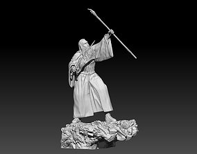 fell Gandalf the Grey 3D print model