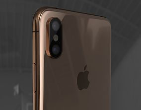 C4D Modeling - Product Level iPhone XS Max