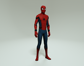 SPIDER-MAN HOMECOMING VERSION - 3D MODEL rigged