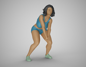 Volleyball Girl 3D printable model