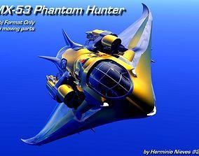 MX-53 Phantom Hunter 3D model