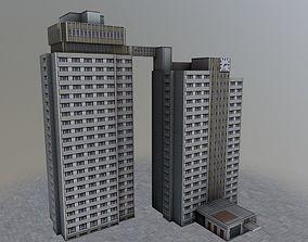 Prague Hotel Kupa 3D asset