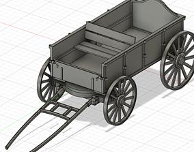 Prairie Wagon STL for resin 3d-printing