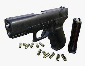 Gun Model Fa Glock VR / AR ready