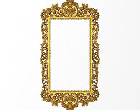 Carved Picture Frame painting 3D model