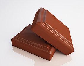 3D Chocolate pieces