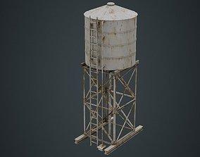 Water Tank 1B 3D asset