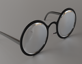 Glasses 3D model realtime optometry
