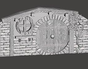 Hobbit House elements 3D printable model