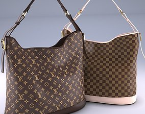Louis Vuitton Damier Ebene Canvas bag 3D store