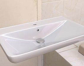 3D wc Washbasin