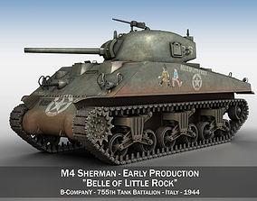 3D M4 Sherman - Belle of little Rock