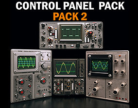 Control panel pack 2 3D