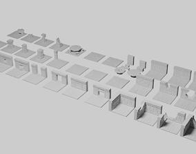 Dwarven Fort Tile Collection 3D printable model