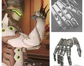 3D print model Genji robotic hand
