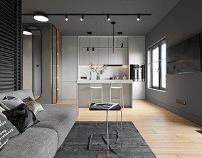 Interior Scene high 3D
