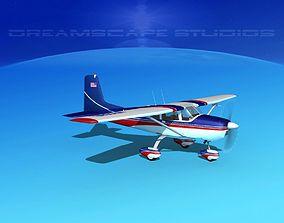 Cessna 172 Skyhawk 1958 V02 3D