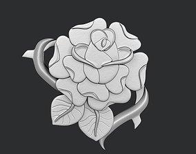 STL models for 3D printing and CNC Rose